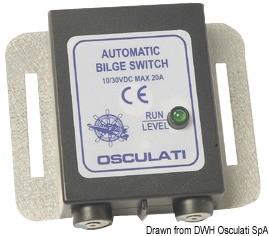 Ключ автоматичен за осушителна помпа 12/24V 20A