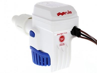 Помпа осушителна за лодка автоматична (със сензор) RULE 12/24V 500-2000GPH САЩ