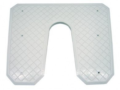 Транцева платка 440х360х20мм пластмаса