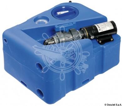 Резервоар за отпадни води с помпа к-т 12/24V