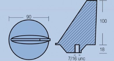 Анод MARINER 80-140HP