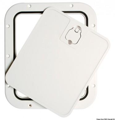 Капак със сваляема рамка 305 x 355мм