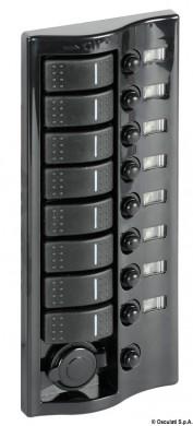 Електропанел 8+1 ключа с осветление