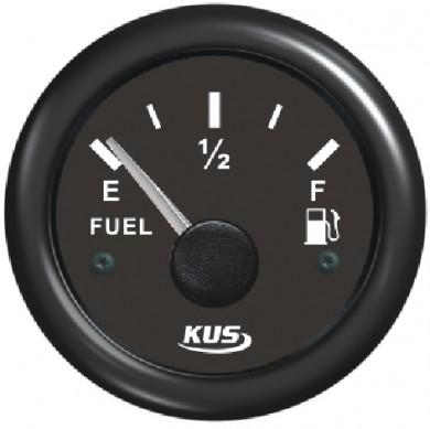 Нивомер за гориво 12/24V, 52мм EU 10/180Ω