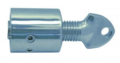 Накрайник за релинг с корекция на дължината inox