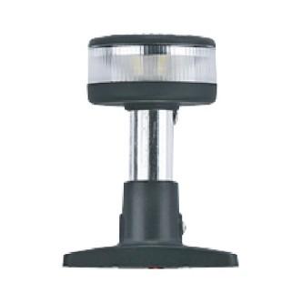 Кръговидима LED бял корпус