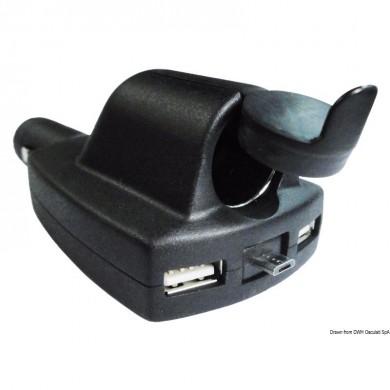 2xUSB + микро USB + контакт 8А