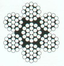 Въже метално inox 316 7x19