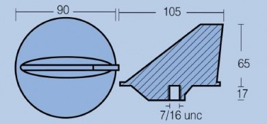 Анод FM-1  MERCURY 50HP