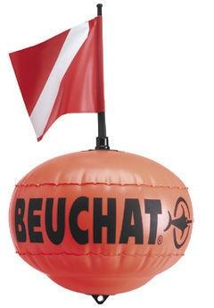 Водолазен буй, сферичен с флаг Beuchat