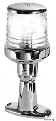 Кръговидима LED с корпус inox