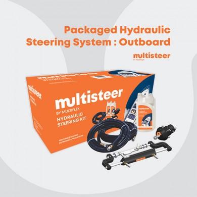 Хидравлична система MULTIFLEX за управление за извънбордови двигатели до 115HP Индия