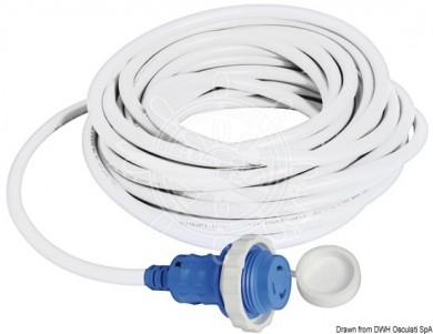 Захранващ кабел с щепсел 16/30A 220V Китай