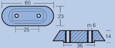 Анод за двигатели 10/50HP