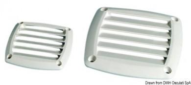 Вентилационна решетка пластмаса 85х85мм