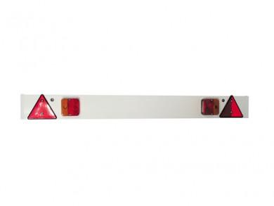 Стоп-светлини за колесар с панел 12V