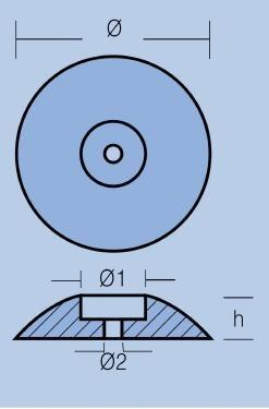 Анод FP-05 за стабилизатори/корпус