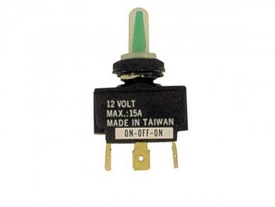 Ключ 2/3 позиционен 12V 16A с капаче водонепроницаем