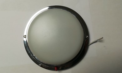 Лампа таванна inox 12V 15W 150мм