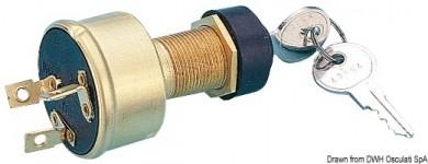 Ключ стартерен водоустойчив 15A месинг