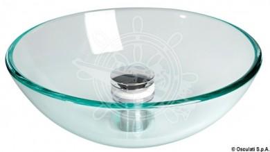 Мивка стъклена полусфера