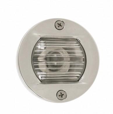 Светлина кърмов за вграждане 12V 7.5W inox