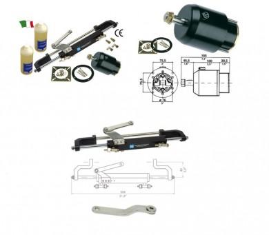 Хидравлична система за управление  за извънбордов двигател до 150HP GF150BR Италия