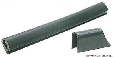Буртик за лодка PVC 18x26 30x38 37x45мм за монтаж без основа