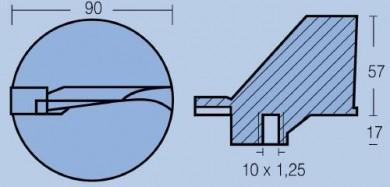 Анод YAMAHA 115-225HP (V4-V6