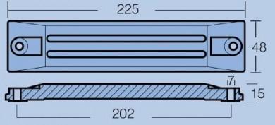 Анод за двигатели 75/130/225HP