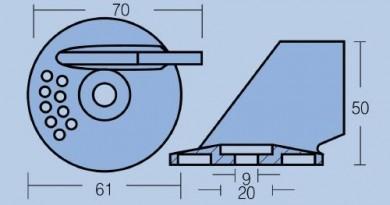 Анод Suzuki 55-65HP
