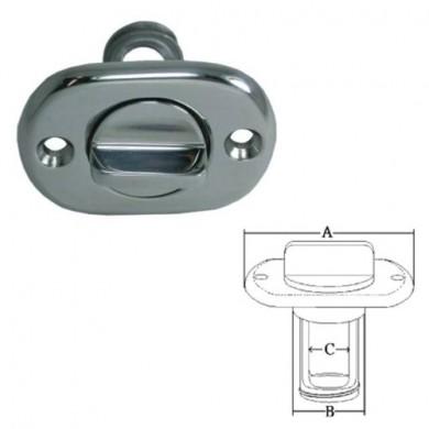 Отводнителна пробка f31mm inox