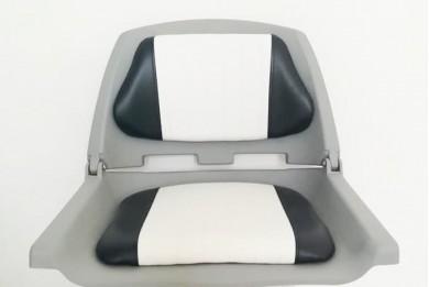 Седалка за лодка тапицирана пластмаса сгъваема