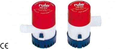 Помпа осушителна за лодка автоматична (със сензор) 12V 500/1100GPH RULE - САЩ