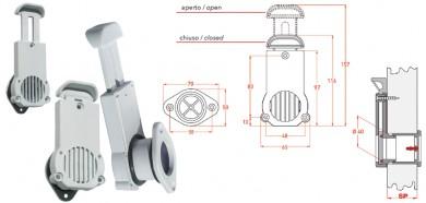 Отводнителна пробка с невъзвратен клапан