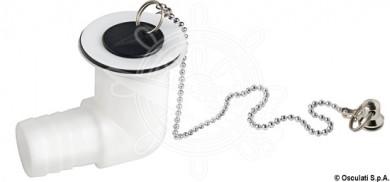 Отводнителен сифон за мивка пластмаса