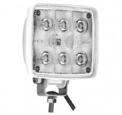 Прожектор 8xLED квадратен