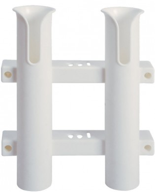 Поставка/стойка за 2 въдици вертикален монтаж