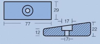 Анод за двигатели 75-130HP