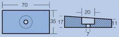 Анод HONDA 75-130-225 HP