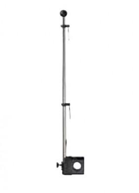Флагщок inox за релингов монтаж ф22-25мм