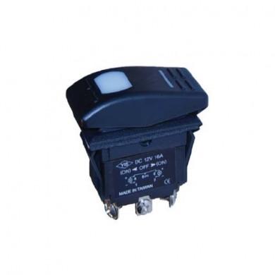 Ключ 2/3-позицонен 12V 16A осветен