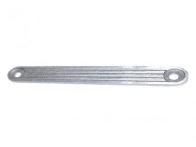 Транцева платка алуминий 38x5cm