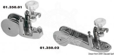Водач за верига/въже inox 75mm