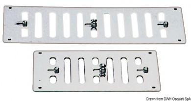 Вентилационна решетка със затваряне inox