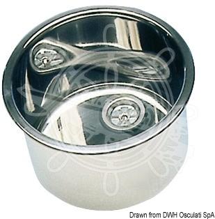 Мивка кръгла inox ф26/30/36cm