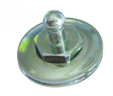 Кнопка за тента месинг
