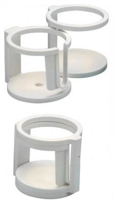 Поставка за 2 или 4 чаши сгъваема ф90мм