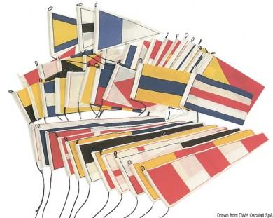 Флагове сигнални комплект 40 броя