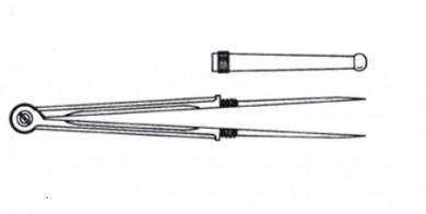 Пергел 180мм inox